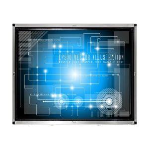 monitor de ecrã táctil Cjtouch 17 polegada ir para um quiosque
