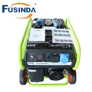 Generator FC6500e van de Benzine van Fusinda 5.5kVA de Commerciële