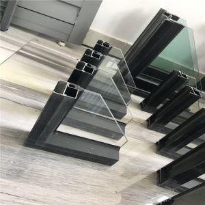Finestra di vetro di alluminio della doppia rottura termica di colore doppia