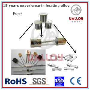 collegare di resistenza elettrica di 0.04-1.0mm Ni80cr20 per il fusibile