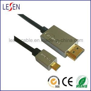 HDMI Kabel, ein Mann zum Mikromann