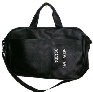La moda y el nuevo diseño de la bolsa de portátil de cuero