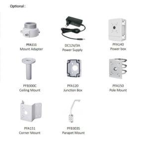 Camera van het Netwerk PTZ van kabeltelevisie van de Veiligheid van IRL van het Sterrelicht van Dahua 2MP 25X de Digitale Video (sd49225t-HN)