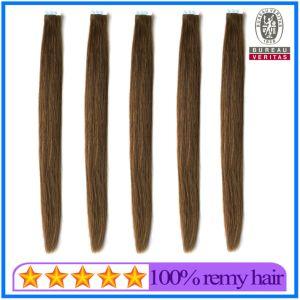 Человеческого волоса Virgin волос Реми волос категории качества заводская цена двойной обращено все цветные 8-30дюймовый 100g ленты расширений волос
