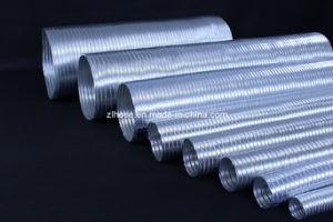 半硬式の適用範囲が広いアルミニウムダクト(7個のねじ)