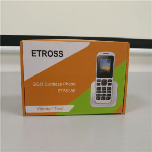 FM-радио и MP3 Длинный диапазон беспроводного телефона стандарта GSM