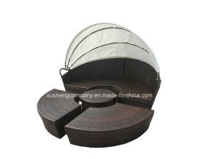 Apariencia especial muebles de ratán Ocio sofá con el aluminio