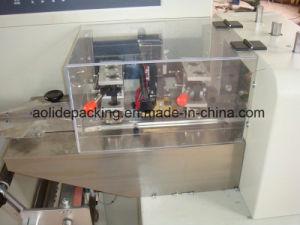 Fabricado en China Pan automático de la máquina de embalaje rollo almohada pequeña máquina de envasado pan