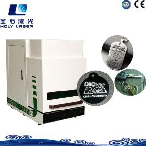 macchina d'acciaio della marcatura del laser di stampa del metallo dell'incisione 30W