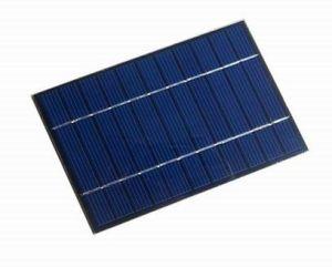 La resina Epoxy pequeño Panel Solar de Pet utilizado en la bolsa de solares y cargador de móvil