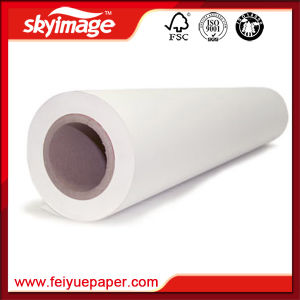 Secado rápido 100 gramos de sublimación de papel de transferencia de calor para ropa deportiva