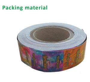 球のフーセンガムのための製造のアルミニウム処理のペーパー