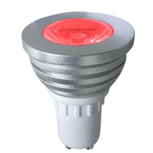 Farbe GU10, die LED-Punkt-Leuchte RGB ändert