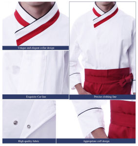 El restaurante del hotel diseñador personalizado uniformes uniformes de  Chef El Chef uniformes 6f9fee57d5965