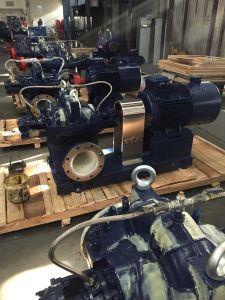 Dividida en varias etapas de la bomba eléctrica de la carcasa con certificados CE