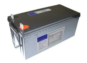 12V200ah de chumbo seladas VRLA isento de manutenção do ciclo de profunda Bateria UPS