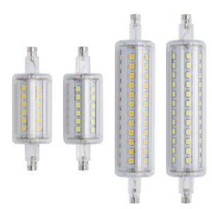 22mm de diâmetro 360 graus de intensidade regulável lâmpada LED R7s 10W 360 R7s de luz com 1000lm