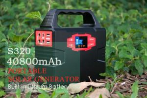Stromnetz-Lithium-Batterie des Multifunktionssolargenerator-150wh Solar