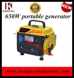 Небольшие домашние использовать портативные бензиновые генератор (КВ-650)