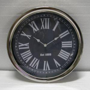 Chapado en Chorm Reloj de pared de la decoración del hogar