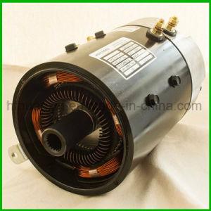 Carro de golf eléctrico 3kw a 48V DC Modelo de motor de la serie Xq-3-4 trabaja con Curtis 1204m-5203 Serie DC Motor de tracción.