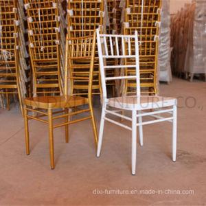 Restaurante Bodas Muebles de aluminio plancha de metal Chiavari sillas para eventos