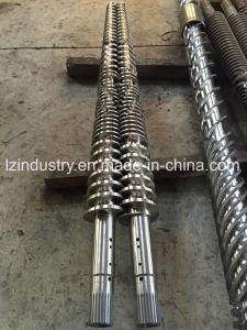 Le baril à double vis conique pour Extrusion Machine