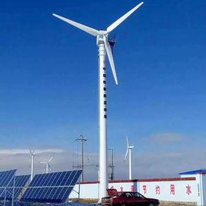Grande 10kw 20kw 30kw 50kw 100kw generatore di energia eolica della turbina di vento di Naier/