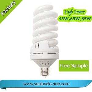 La luz de la clásica lámpara iluminación lámparas CFL espiral Completa 15W 32W 45W 65W Lámpara de ahorro de energía