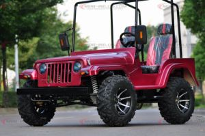 Venta de Hot Adult Mini Jeep Willys ATV Quad en 150cc y 200cc Motor