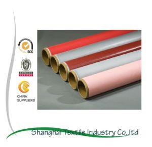 Panno tessuto vetroresina rivestita di silicone laterale di Grey 2 di Shtextile (fornitore della Cina)