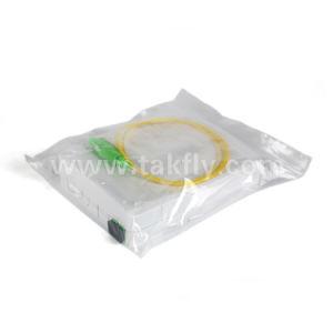 Коробка прекращения оптического волокна установки стены 2 сердечников Desktop с переходникой и отрезком провода внутрь