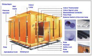 Température et humidité Walk-dans le type de chambre d'essai (WS série)