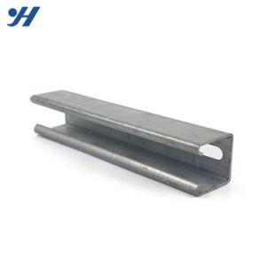 C forma GB norma JIS Canal de acero laminado en caliente