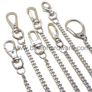 ヘビの鎖が付いている金属のキーホルダー