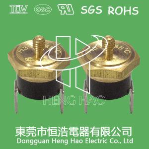 Interruptor de corte térmico na saída de fábrica