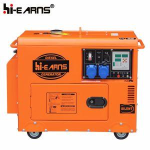 은 색깔 3kw 디젤 엔진 발전기 세트 (DG3500SE)