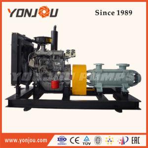 Bomba centrífuga multietapa tipo D con motor Diesel de la aplicación de Riego/.