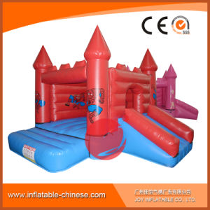 2018 Blau-Prinzessin Inflatable Jumping Castle für Kind-Partei (T2-004)