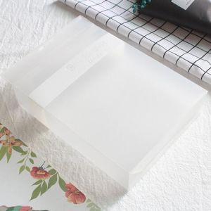カスタマイズされた小さい折りたたみの透過ゆとりPVCプラスチック包装ボックス