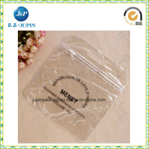 Sacchetto altamente chiaro dell'estetica del PVC. Sacchetto del regalo di promozione (jp-plastic059)