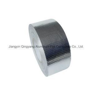 Tela de fibra de vidrio con papel de aluminio cinta de protección de radiación