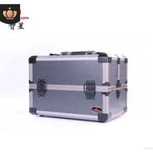 Caja de herramientas de hardware de almacenamiento de la caja de almacenamiento de bloqueo de alquiler de caja de aluminio de verificación