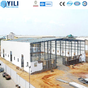 Estructura de acero compuesto de acero prefabricados / Taller de almacén