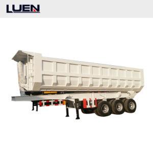 prix d'usine Luen de haute qualité semi-remorque de camion de vidage pour le transport de fret