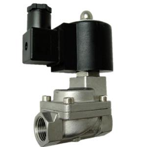 Таким образом, серия Kls Kls 2/2-15-D1 высокого давления из нержавеющей стали типа управляющего поршня DC12V электромагнитного клапана