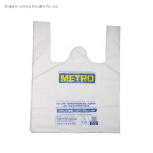 HDPE LDPE alimento material compra / T-Shirt bolsa