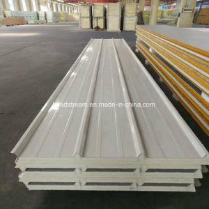 Pg/IRP/PUR/Puf 50mm/100mm/150mm/200mm isolation en mousse ignifuge panneau sandwich pour mur/toit et une chambre froide