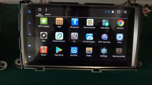 De Video van de Auto DVD van Eightcore Android8.1 van Vshauto voor Toyata Oker 2010-2014