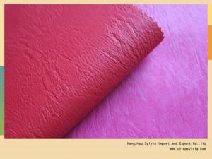 PU синтетическая кожа для обуви внутренней панели боковины